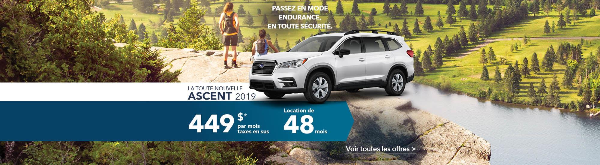 La toute nouvelle Ascent 2019 | Subaru
