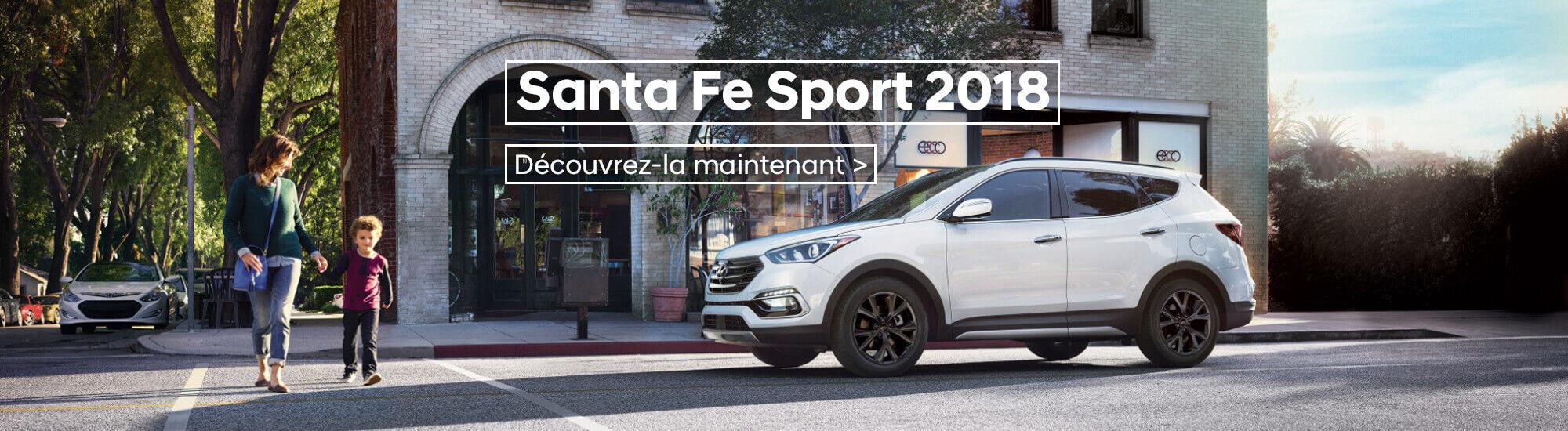 Santa fe sport 2018