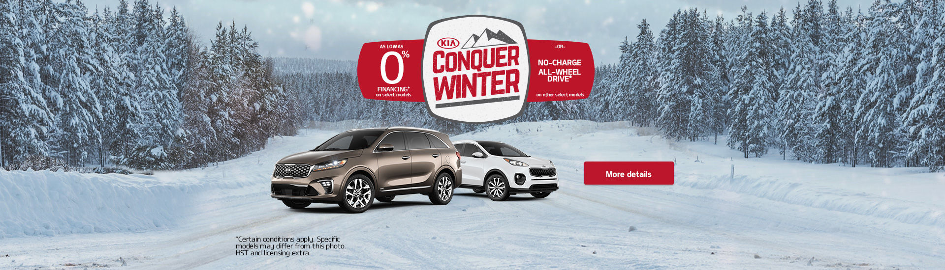 Kia Conquer Winter Event
