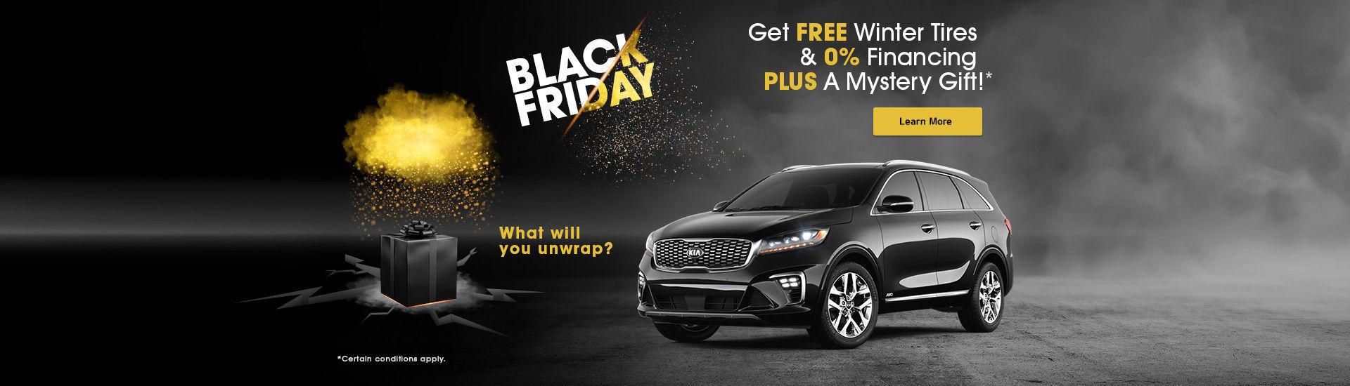 Black Friday at Kitchener Kia!