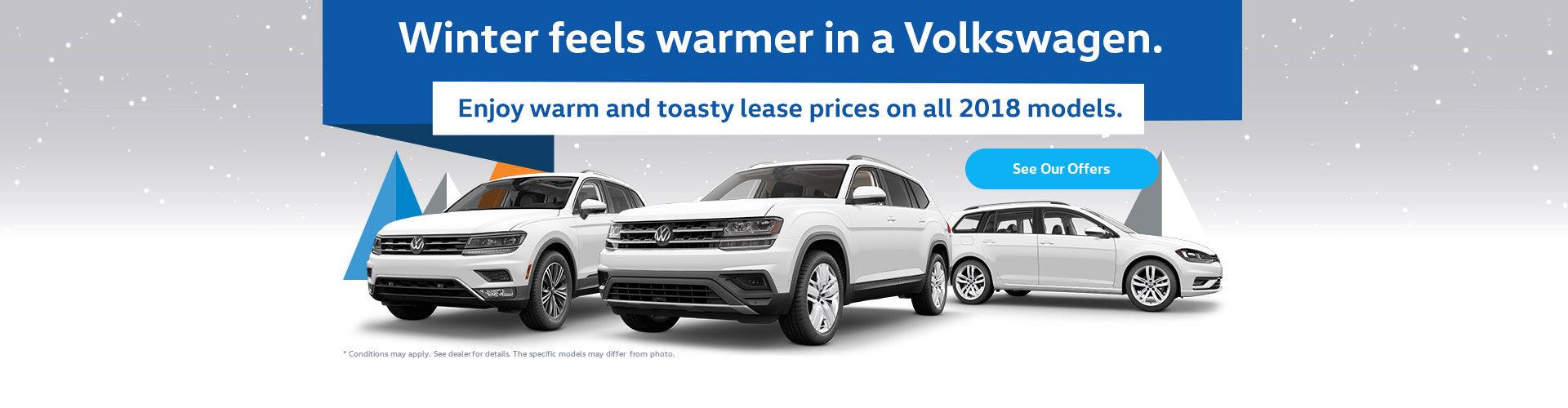 Winter Feels Warmer in a Volkswagen Event