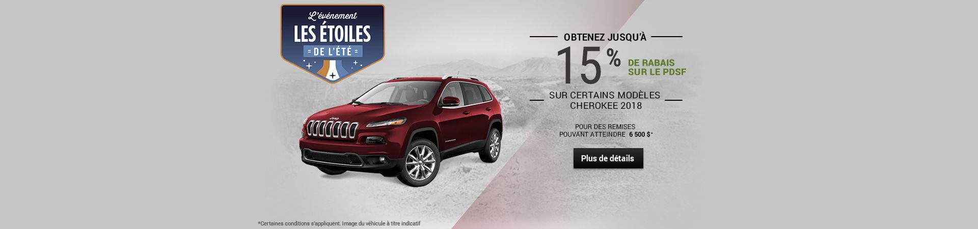 L'événement Les étoiles de l'été - Jeep (Mobile)