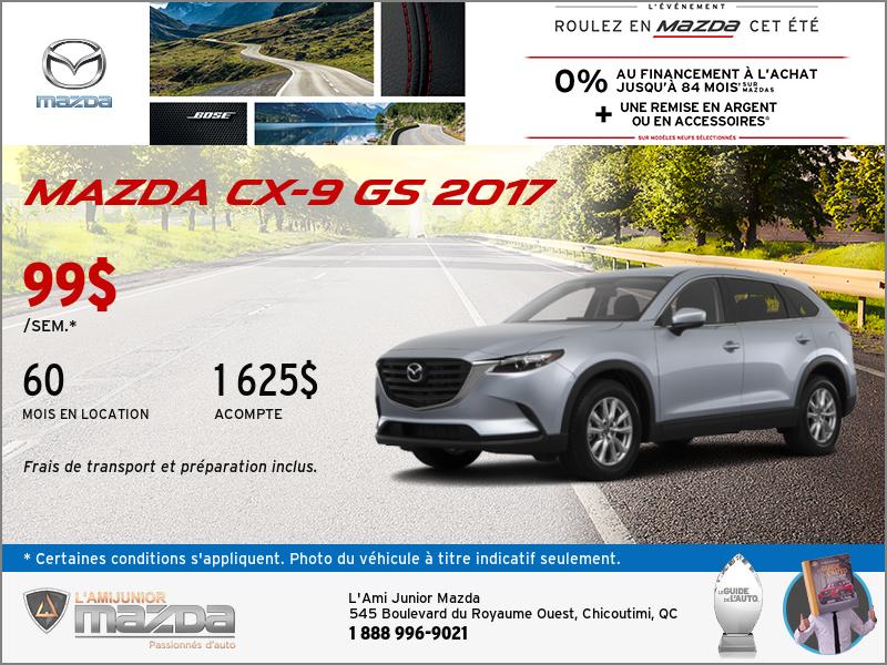 Louez la toute nouvelle Mazda CX-9 2017