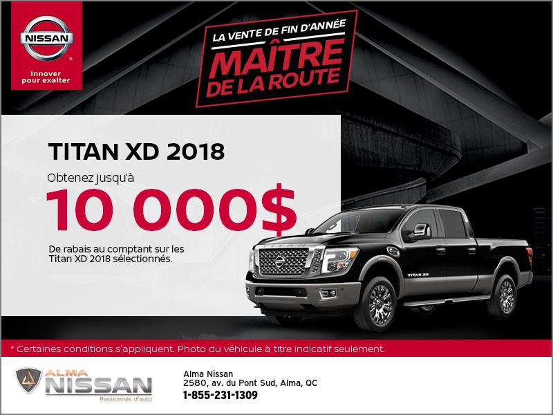 Le nouveau Nissan Titan 2018