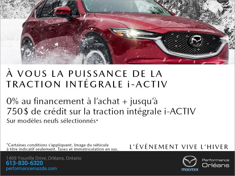 L'événement vive l'hiver Mazda! chez Performance Mazda à Ottawa