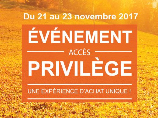 Événement accès privilège !