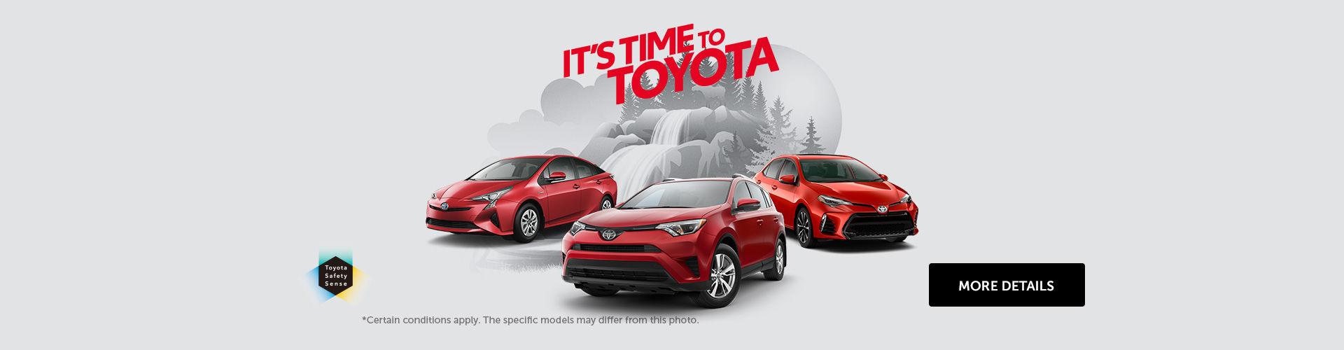 Toyota's Event!