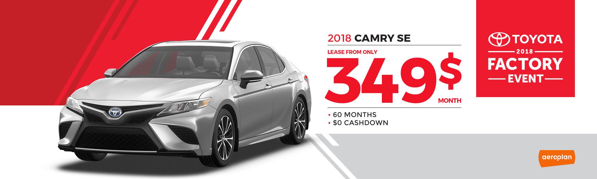 2018 CAMRY SE