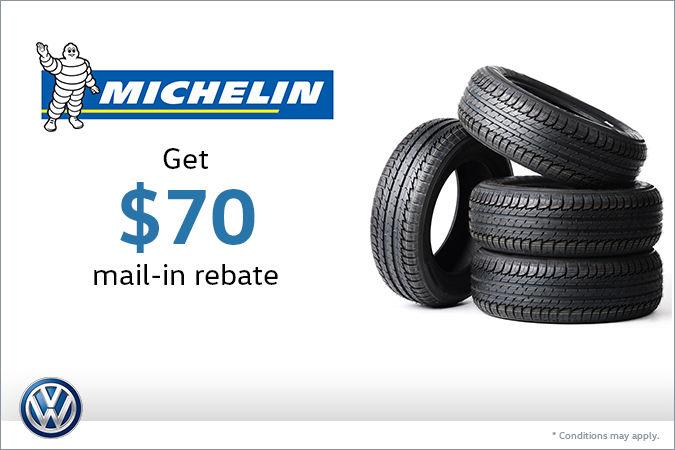 Michelin Tire Rebate >> Special On Michelin Tires Sarnia Volkswagen