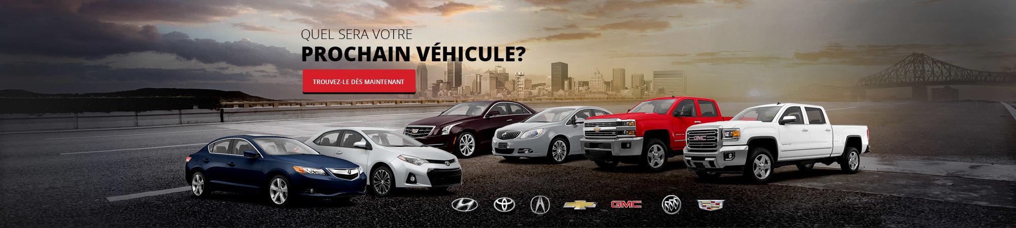 Quel sera votre prochain véhicule?