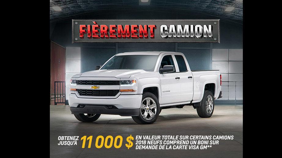 Promotion Chevrolet Juin 2018