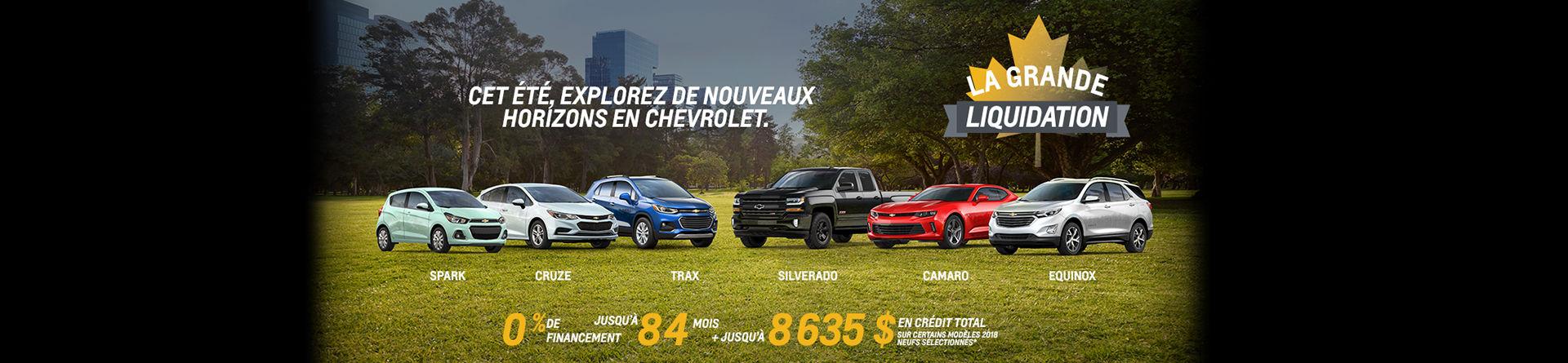 Chevrolet Aout Slider