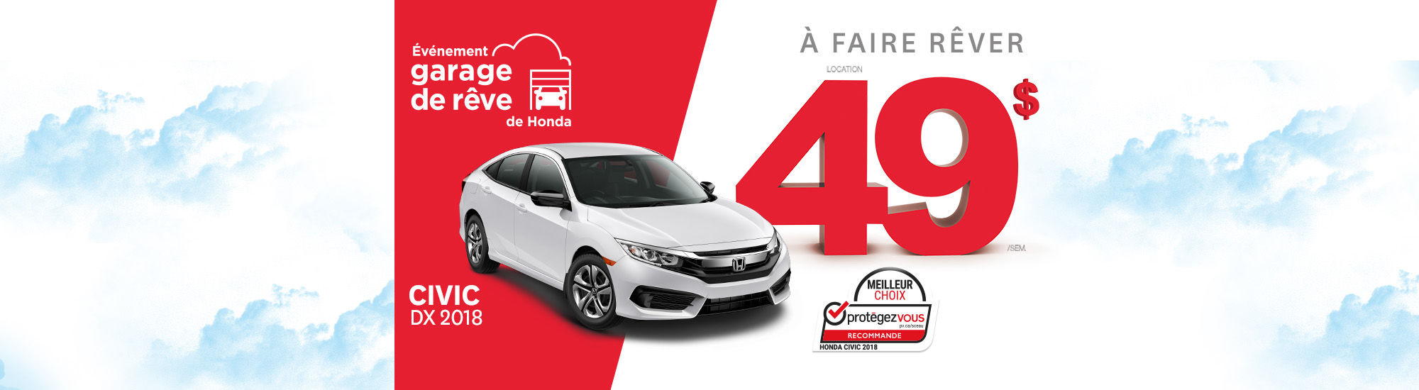 L'événement Garage de rêve Honda