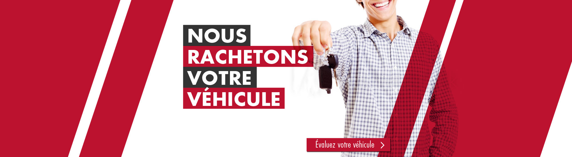 Nous rachetons votre véhicule - EAC