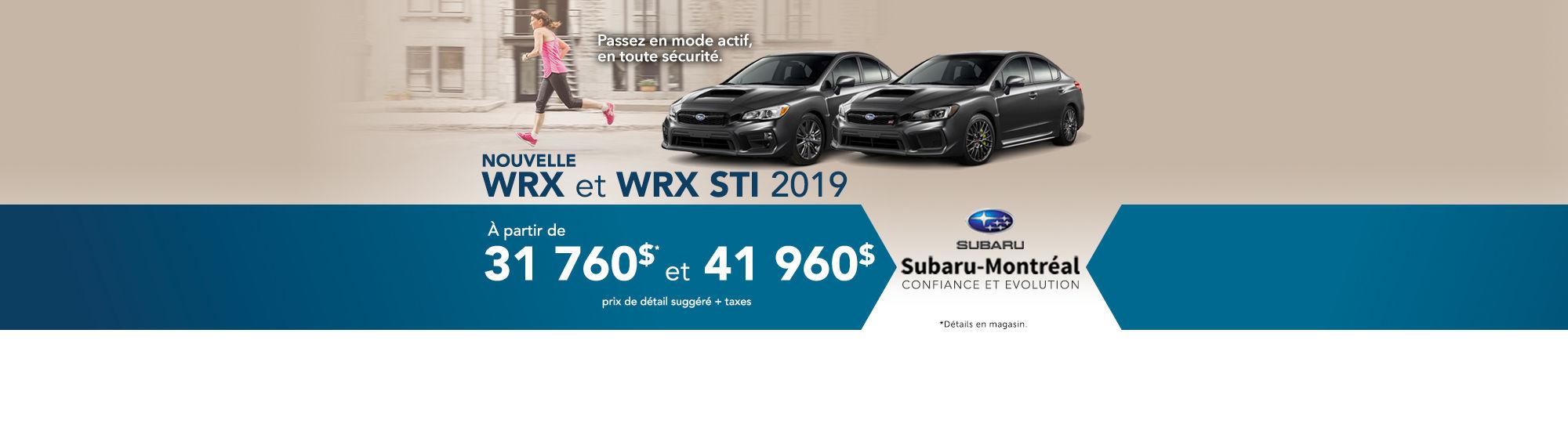 wrx 2019