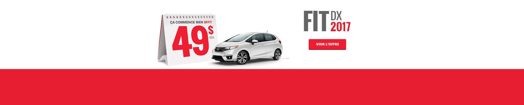 Louez une Honda à partir de 49$ - Fit