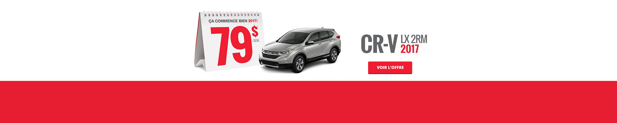 Louez une Honda à partir de 49$ - CRV