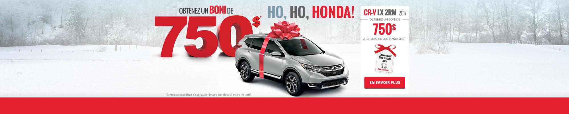 Ho, Ho, Honda! Louez une Civic!