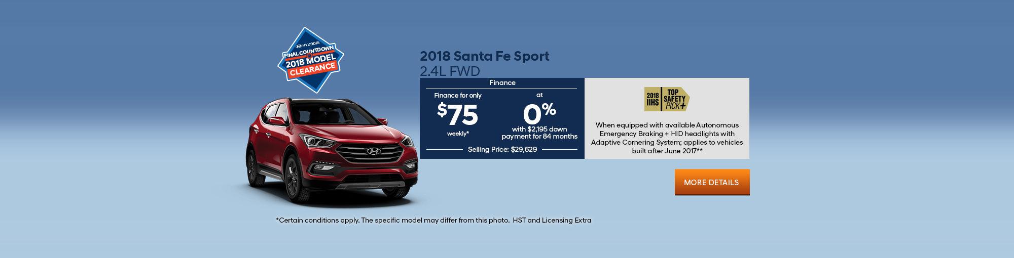 2018 Santa Fe