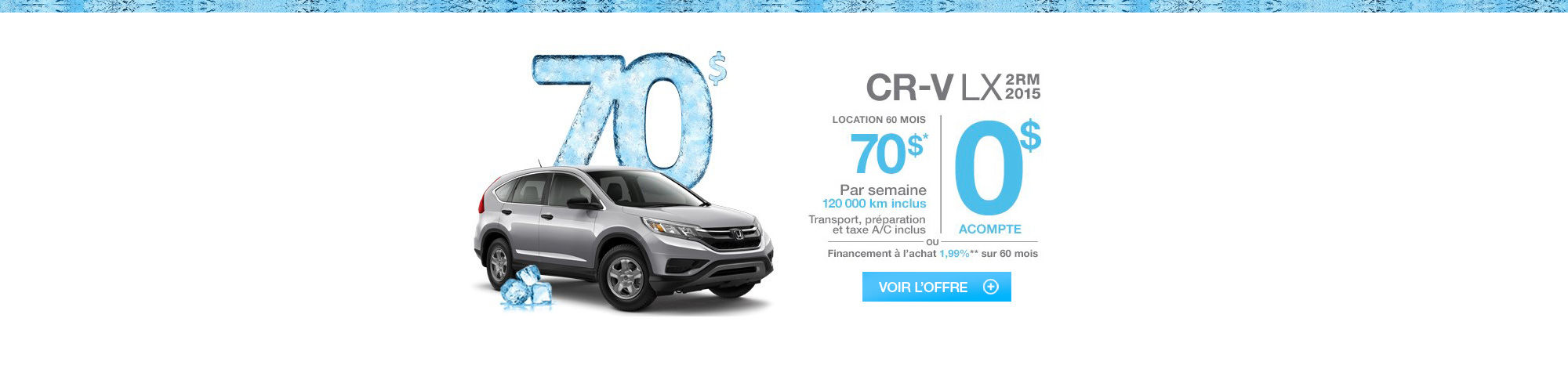 Promotions janvier-CRV