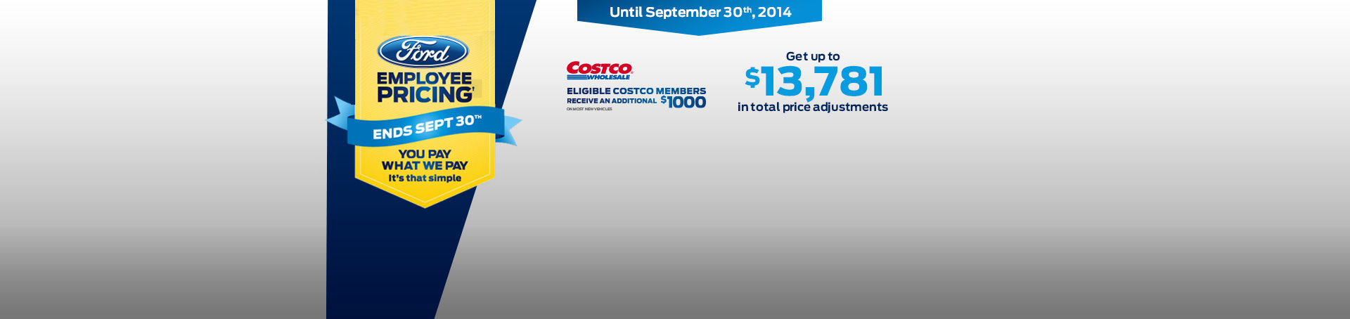 The Employee Pricing sales event is back!