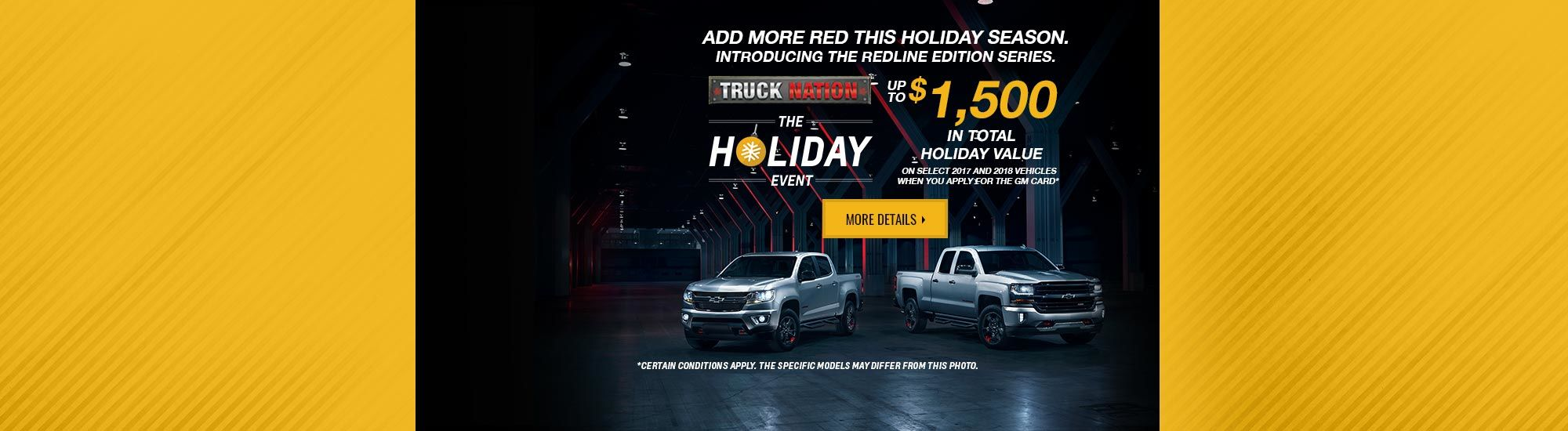 Holiday Event - Chevrolet