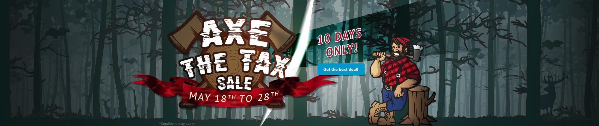 Axe The Tax Sale