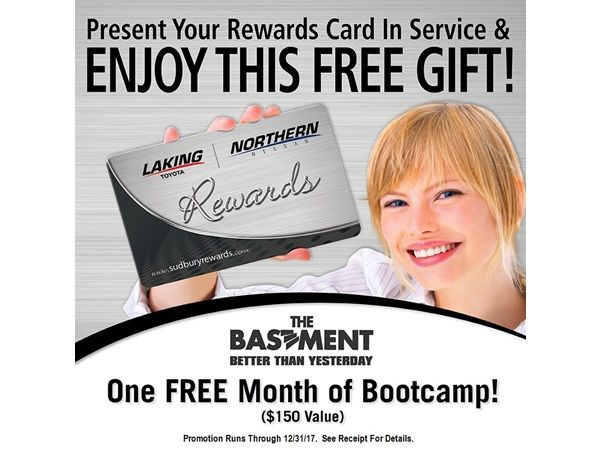 Swipe Your Rewards Card for FREE GIFT!