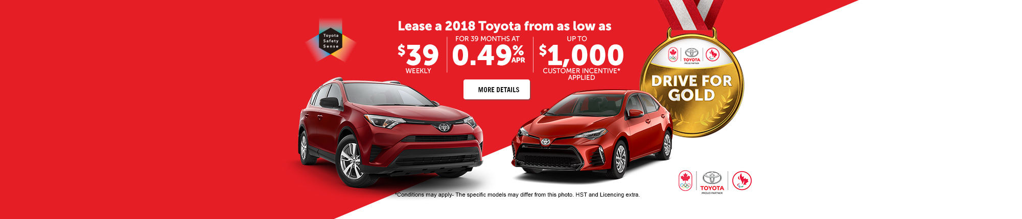 Lease a new Toyota!