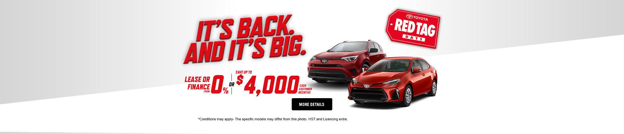 Toyota Monthly Event