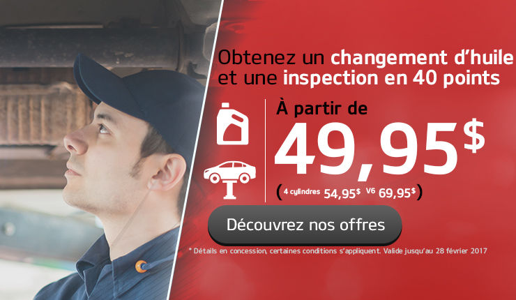 leader Changement d'huile/inspection
