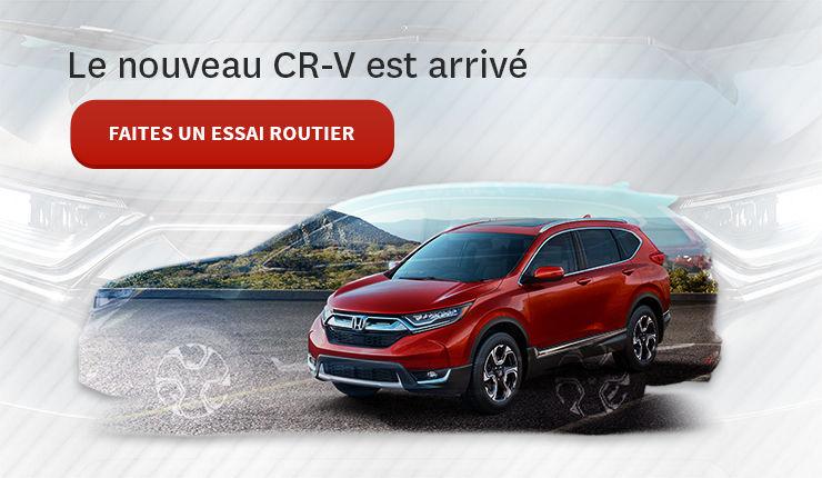 La nouvelle CR-V est arrivé!