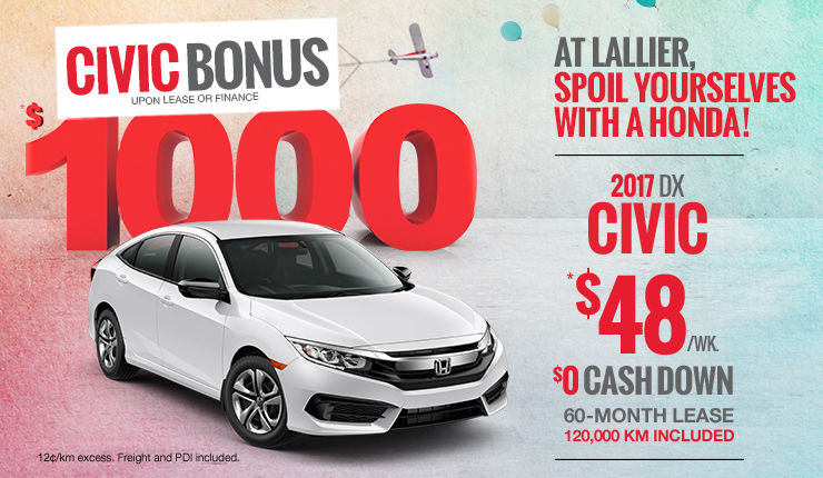 Spoil Yourselves with a Honda - Civic