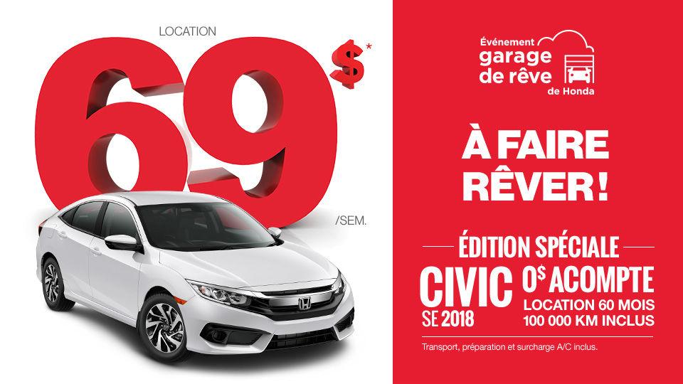 Civic SE 2018