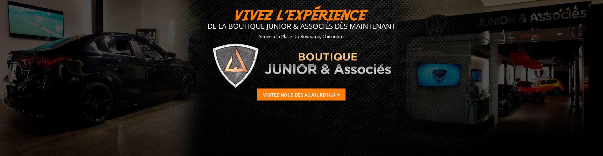 Vivez l'expérience de la boutique Junior & Associés