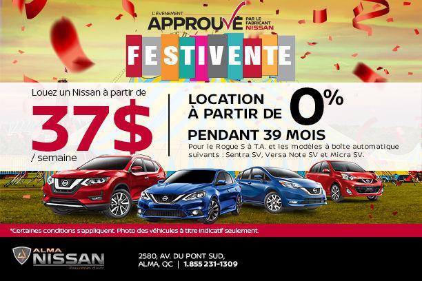 L'évènement approuvé par le fabricant Nissan !