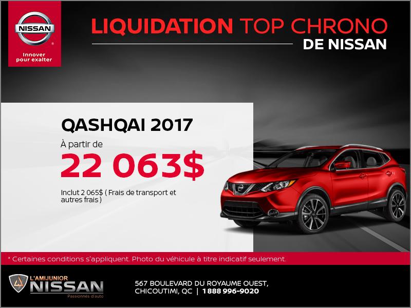 Le Qashqai 2017
