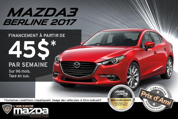 Mazda3 2017 Berline 2017