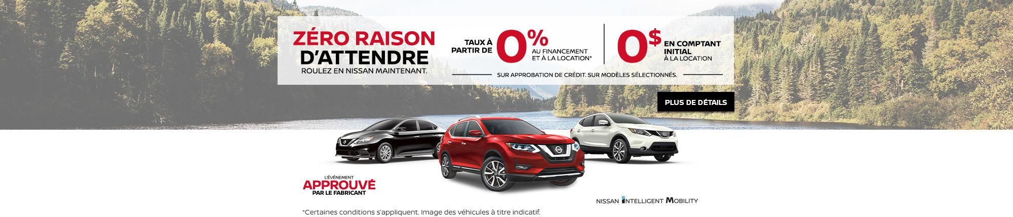 L'événement Nissan