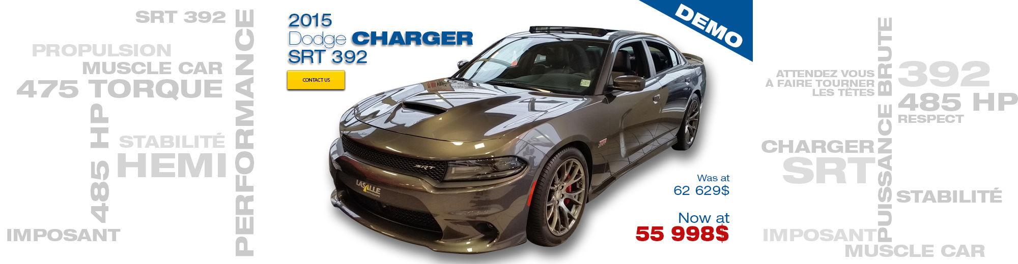2015 Dodge Charger SRT 392 - Demo