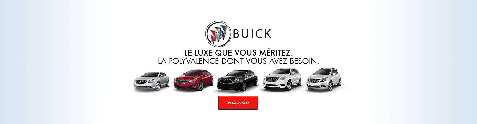 Buick | Le luxe que vous méritez