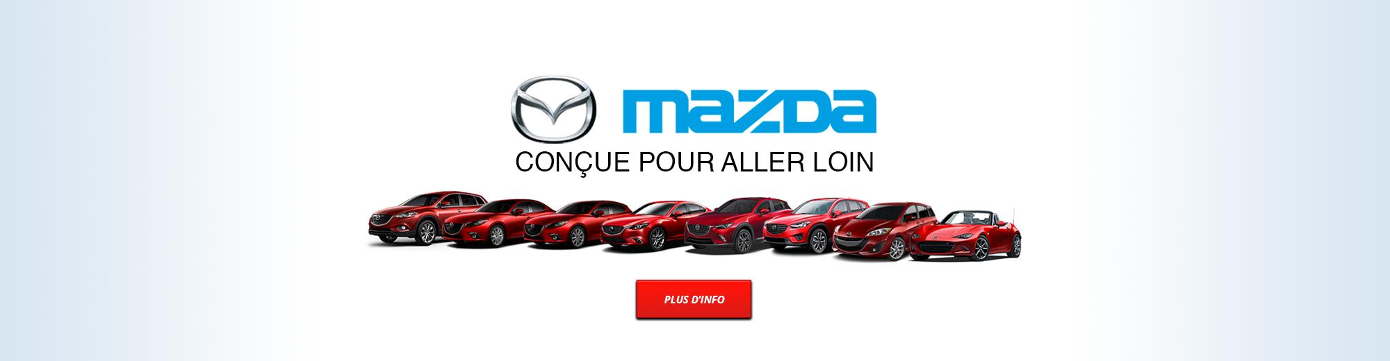 Mazda | Conçue pour aller loin