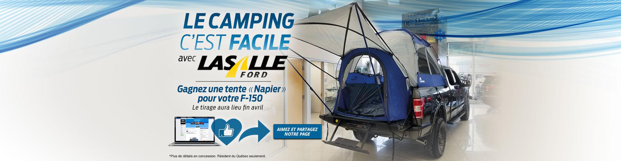Concours tente F-150