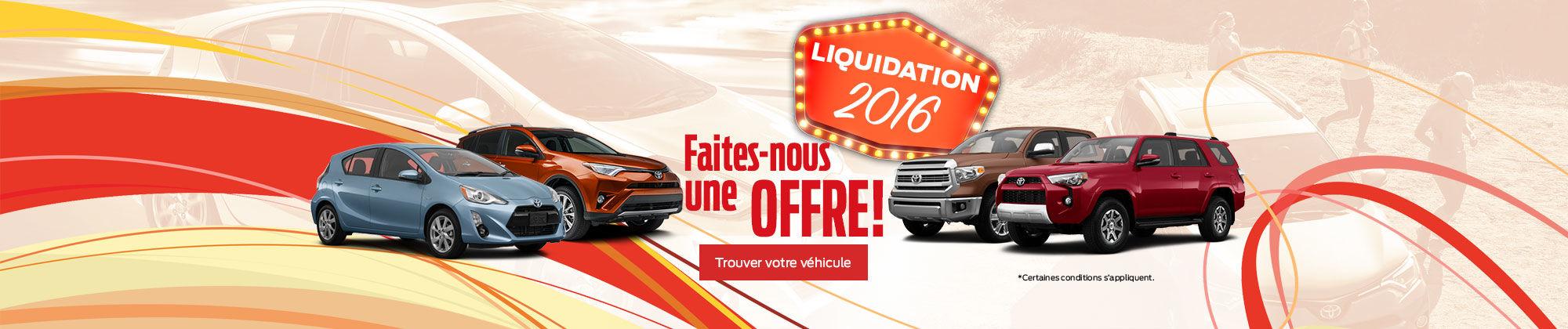 Liquidation 2016