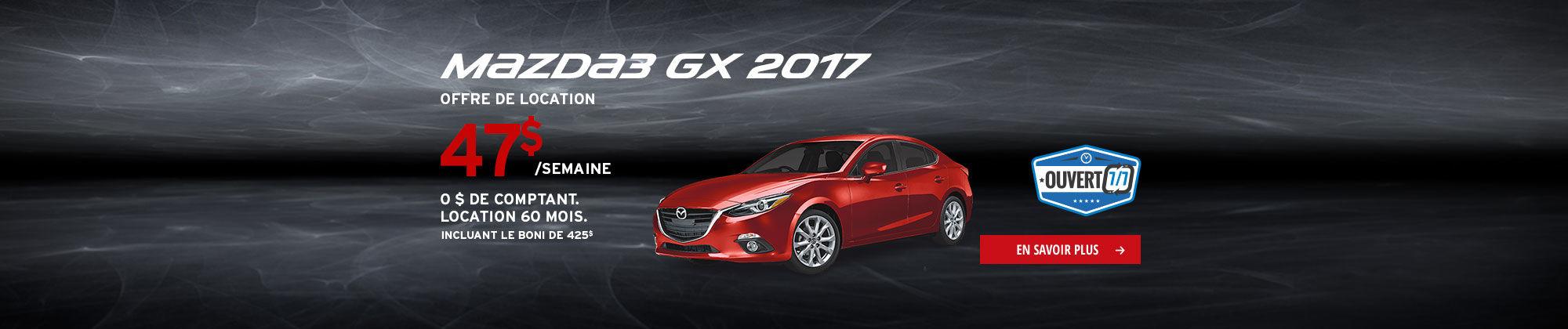 Roulez en Mazda cet été-M3