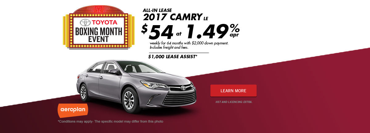 Boxing Month Event ! -Camry