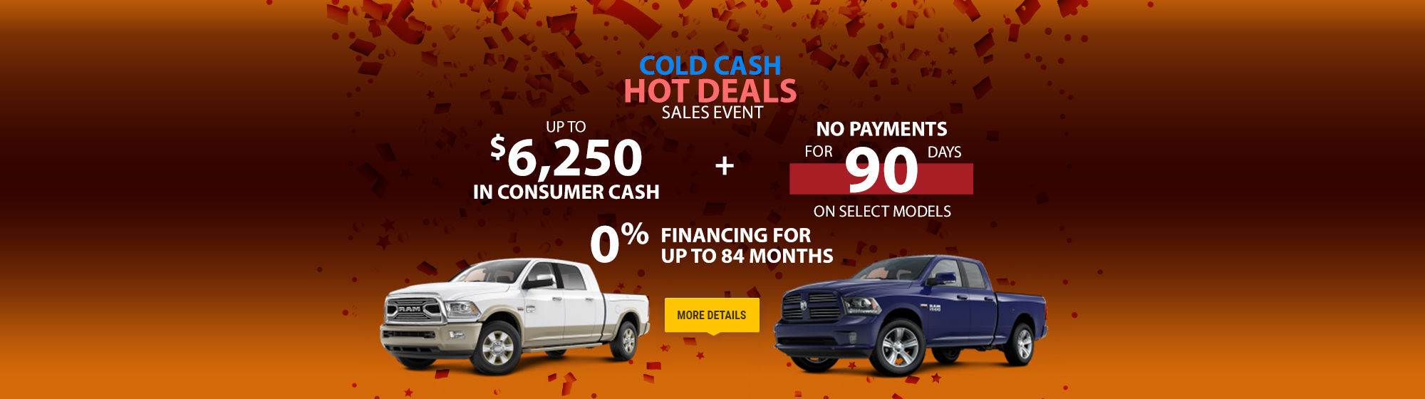 Promotions Amherst RAM February