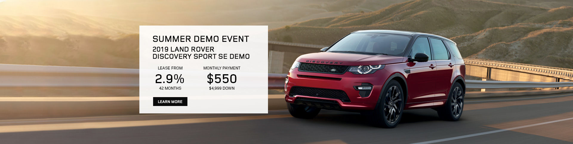 2019 July | Discovery Sport Special