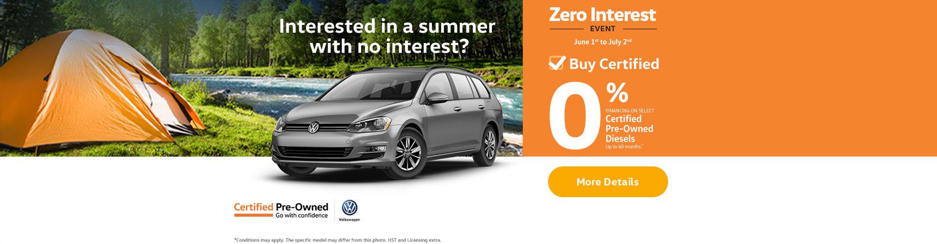 Zero Interest Event - web