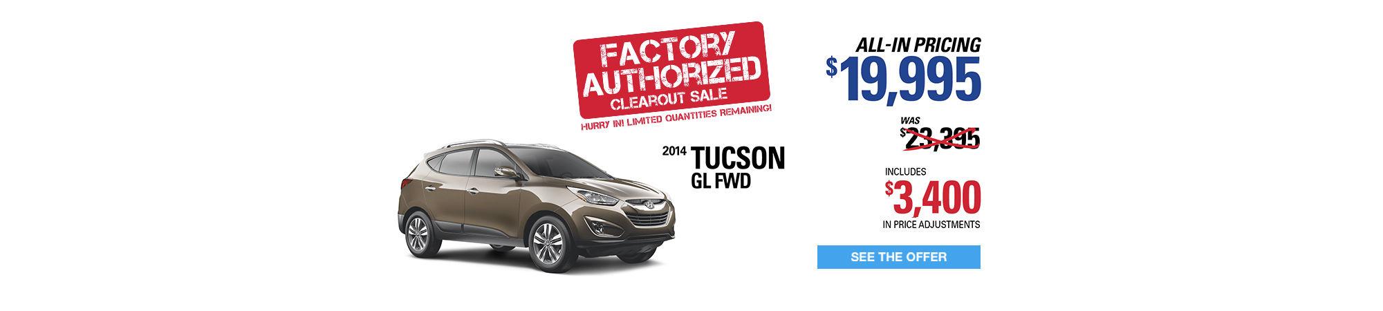 tucson - Authorized Factory